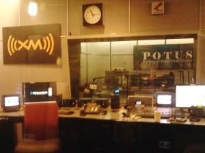 POTUS studio at XM Satellite Radio