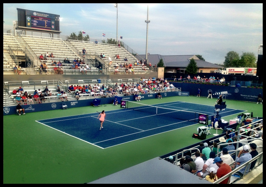 Court 3 @ the Lindner Family Tennis Center (Home of the W&S Open)