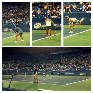 Center Court: Li Na vs. Lauren Davis. Aug 14th.
