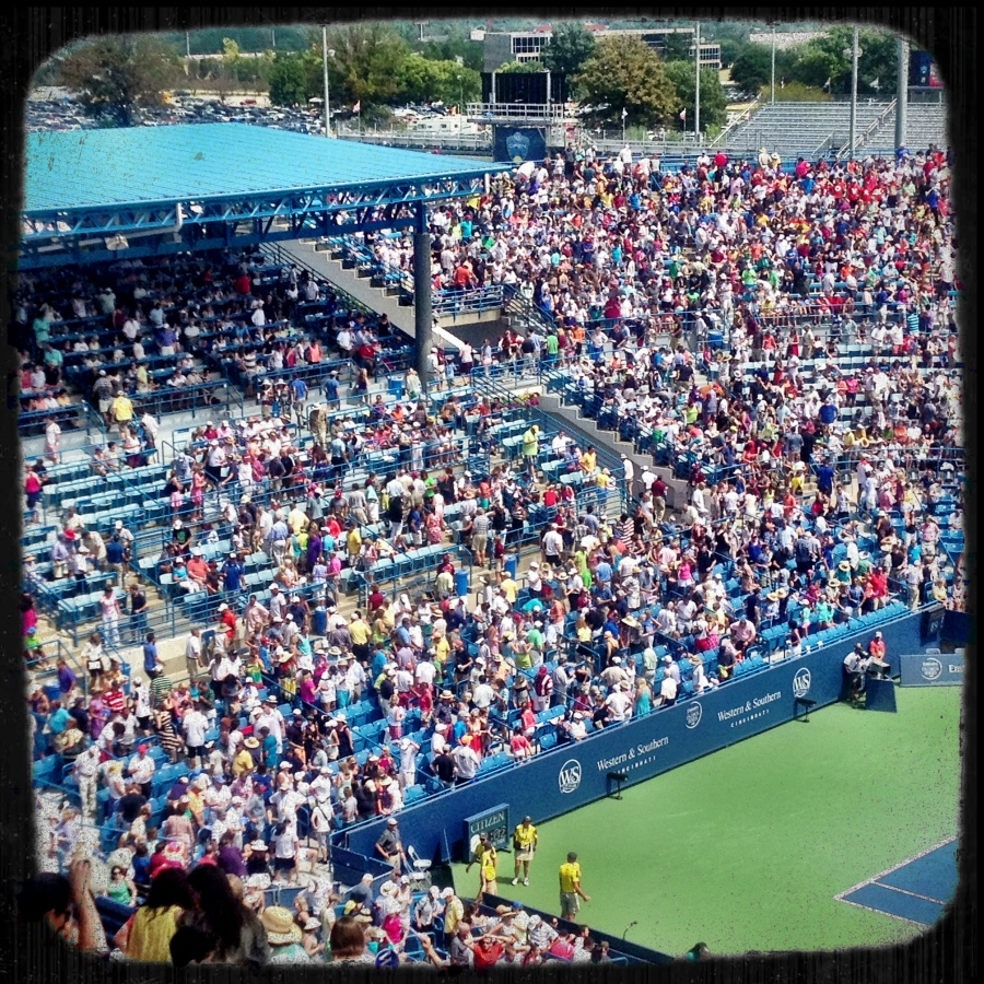 180,000 fans were at the Lindner Family Tennis Center