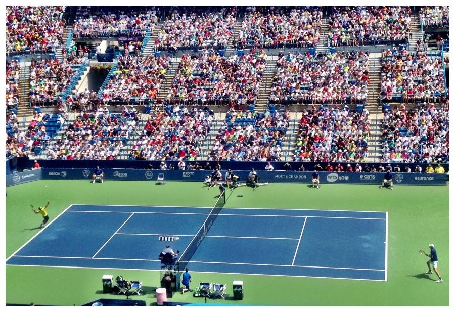 Men's final: John Isner vs. Rafael Nadal
