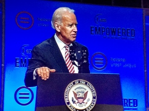 Vice President Joe Biden spoke at the National Urban League Conference this year.