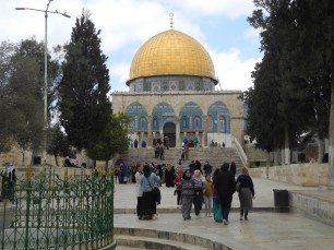 One of the entrances to Dome of the Rock on the Temple Mount
