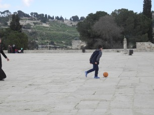 Time for play up on Temple Mount