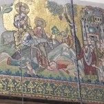 Inside the Church of Nativity