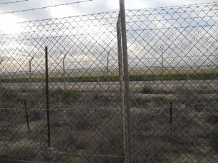 Just 700 meters from this fence is Gaza.
