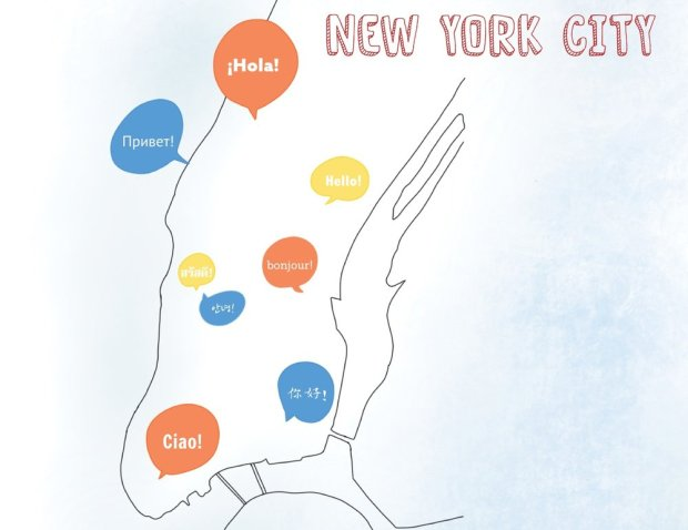 Language in NYC